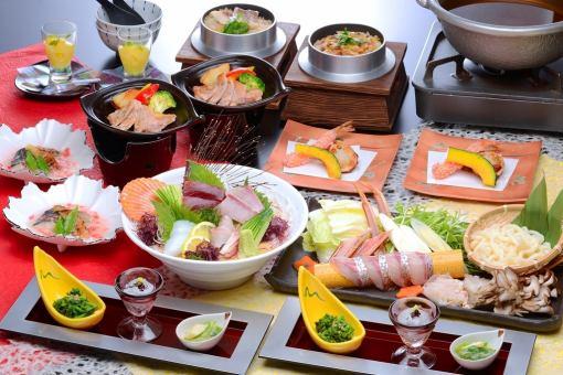 【Kadoya Hanbei course (9 items) 3000 yen】