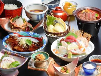 【Oshikoku prefecture domestic production course (7 items) 4500 yen】