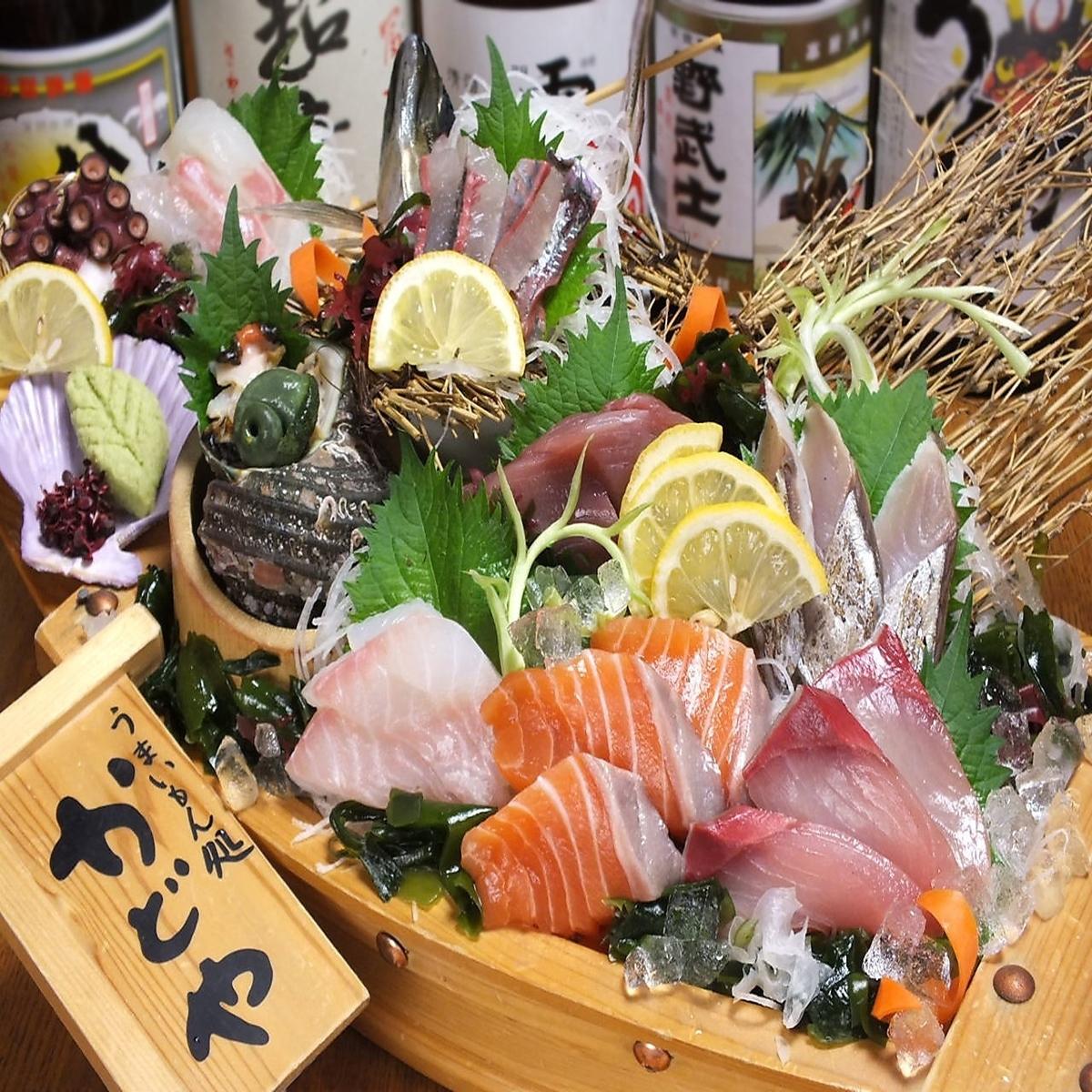 瀬戸内鮮魚、愛媛の郷土料理が旨い人気店
