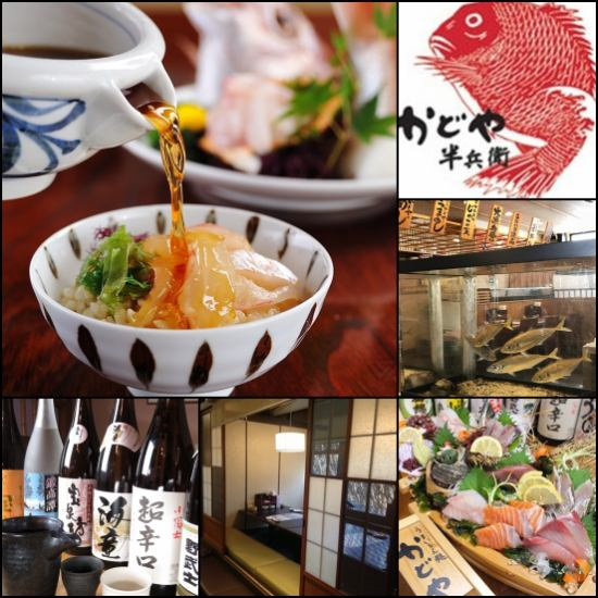 "Speaking of fresh fish / seafood directly to fishing ground ""Morning Fuda"" Kadoya Hanbei! Popular from lunch to banquet"