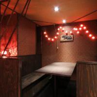 ◆店内奥のボックス席はしきりになっているので半個室としてご利用いただけます。グループでの飲み会にももちろん、お子様連れでも安心してご利用いただけます!