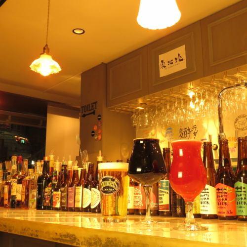 世界の樽生クラフトビール常時15種類以上(^^♪