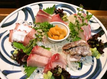 Assorted sashimi 2 servings