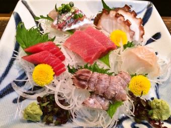 Assorted sashimi 1 servings