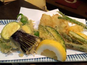 足立産の野菜で 東京やさい天ぷら