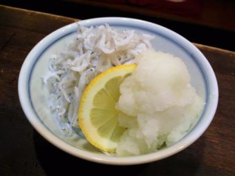 Grated Shirasu