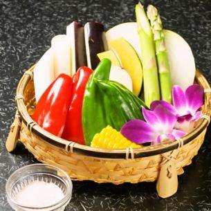 季節の野菜焼