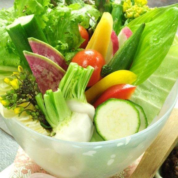 秋保有機野菜 盛合せ