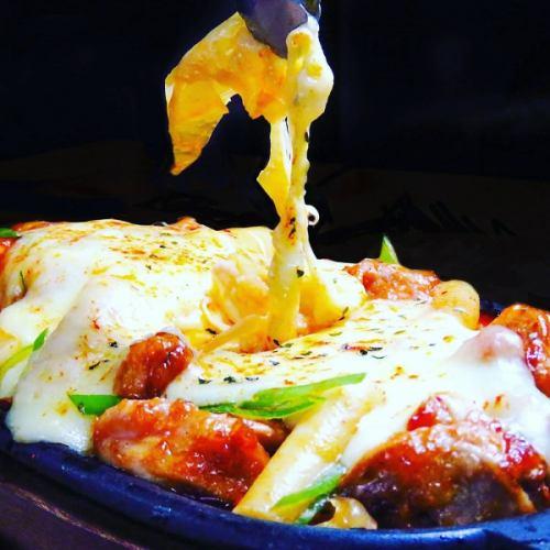 트롤 막히게! 건더기 가득한 치즈 닭 갈비 (철판) 유익한 코스도 절찬 예약 접수 중 ♪