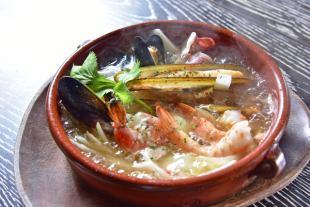 Seafood Ajillo ☆ Recommended popular menu ♪