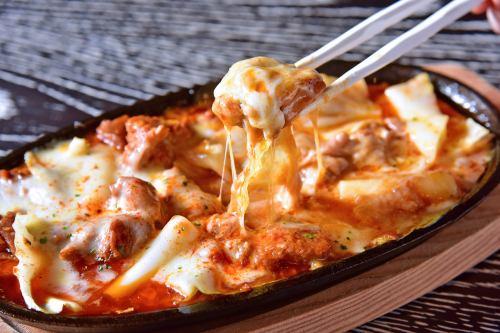奶酪塔卡比铁板