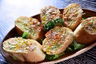 Avocado & Salmon Bruschetta