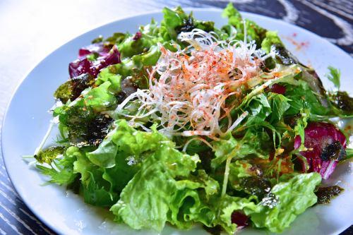 Korean style chopped salad