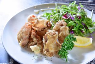 AJO-style fried chicken-Asian spice-