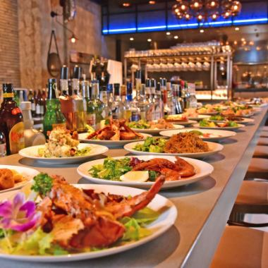 [Private plan ※ More than 30 people] Buffet 100 minutes All-you-can-drink with 10 items (Sun-Thu) From 3500 yen (before Friday and Saturday) 4000 yen