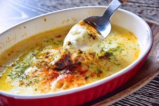 エビとホタテの濃厚チーズグラタン