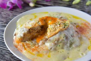 チーズドームインド風キーマカレー