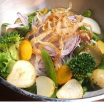 なの蔵無農薬野菜の最高サラダ