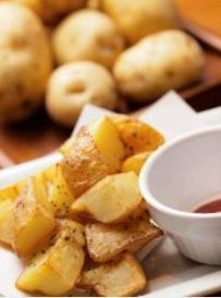 Potato fried without potato chemicals
