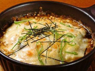 山本さんのキノコと豆腐の和風グラタン