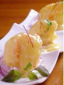 蝦蛋黃醬<3塊>