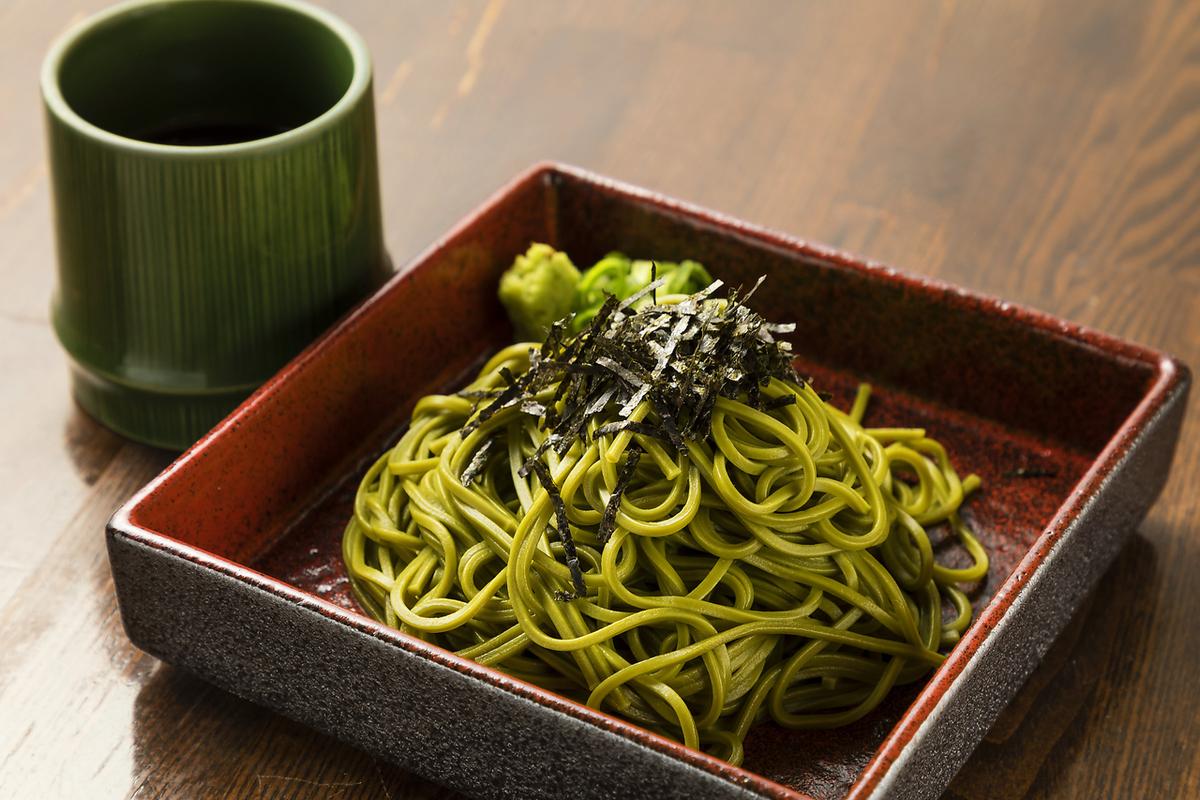 Hamamatsu's tea soba