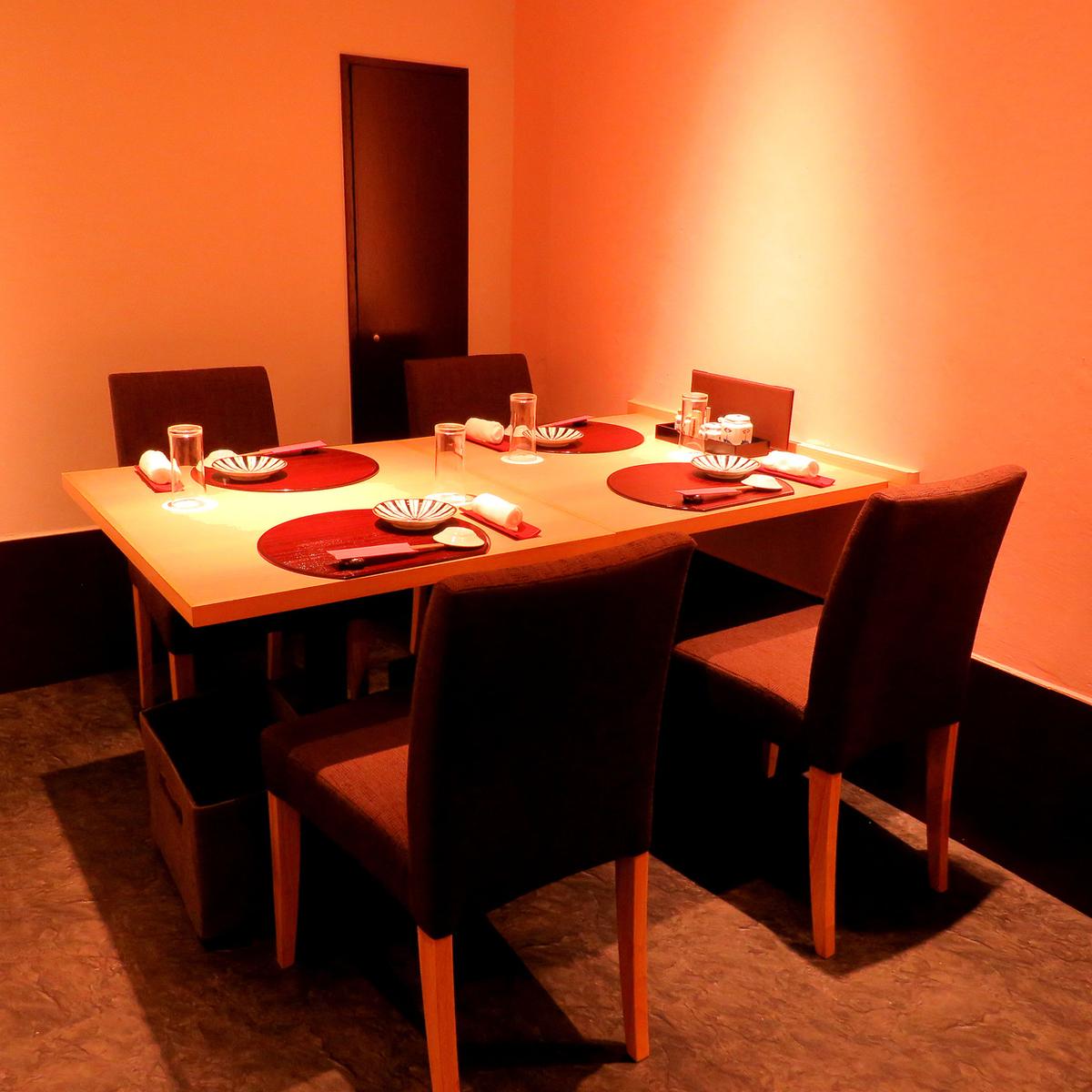 4 명 ~ 테이블 석도 있습니다.회식이나 접대 등 다양한 장면에 대응.