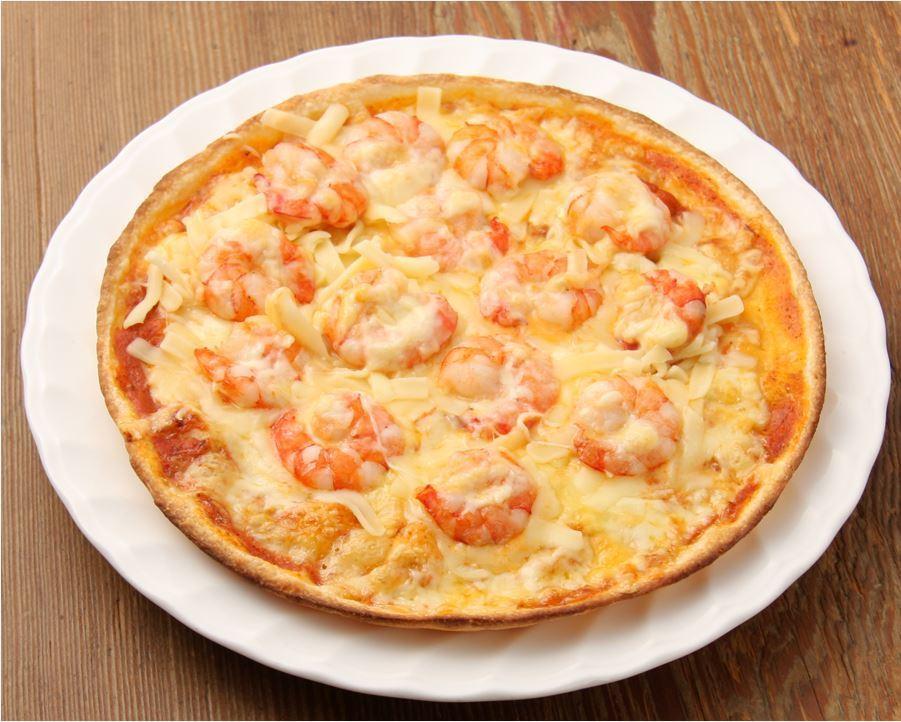 G むきエビいっぱいのピッツァ