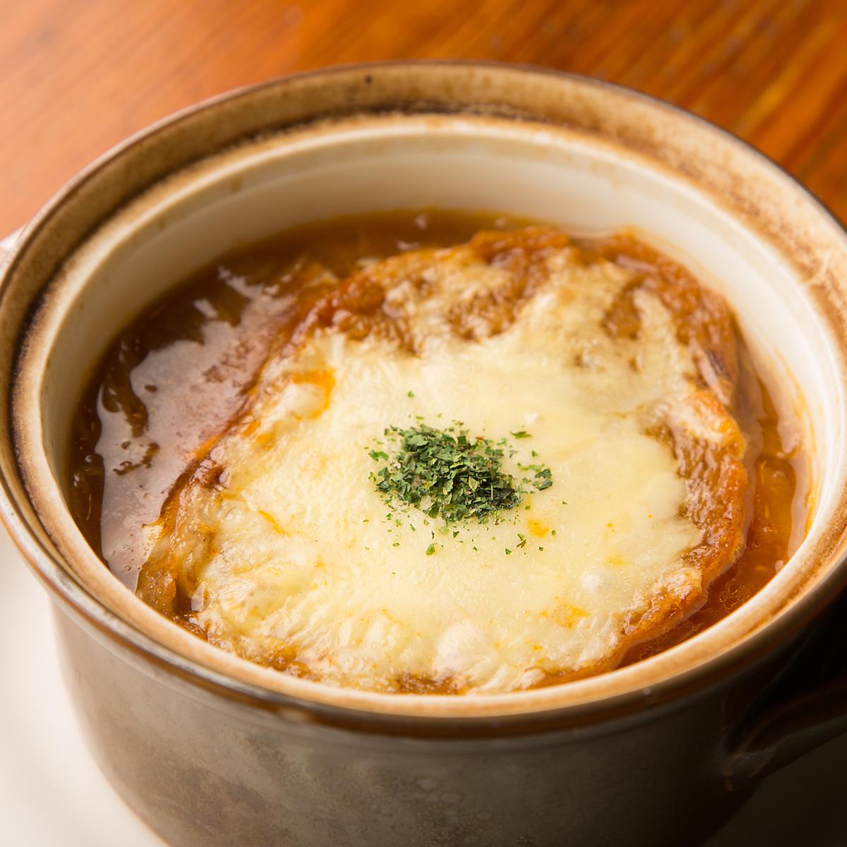 特製オニオングラタンスープ