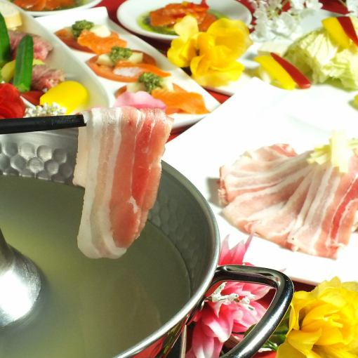 Renewal commemoration ♪ Shabu-shabu & side menu All you can drink All-you-can-eat 120 minutes 1980 yen → 1480 yen (excluding tax)
