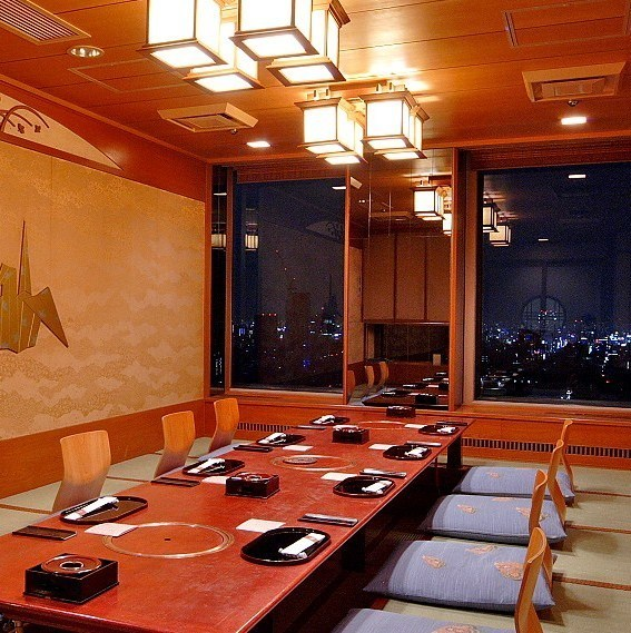 A 12-person private room ideal for a small dinner