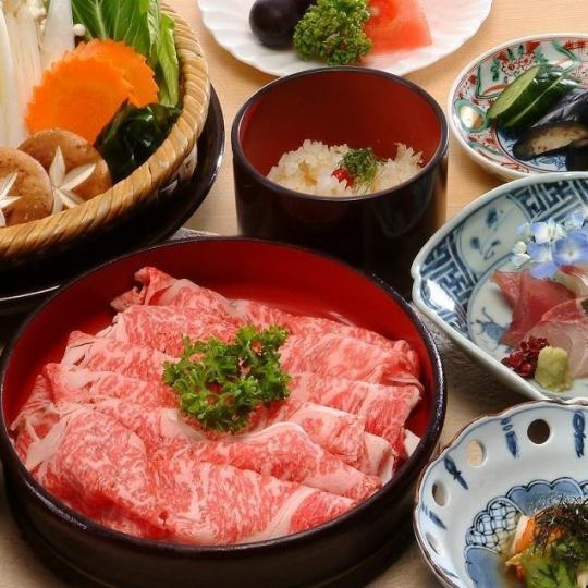 Shabu-shabu course 7776 yen (including tax included 8553 yen)