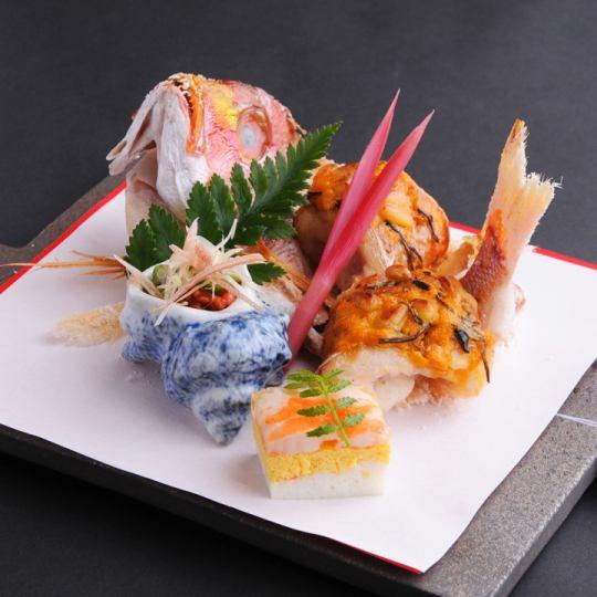 [订婚,会议一起]庆祝怀石松13种菜肴10800日元(Zeisakomi11880日元)