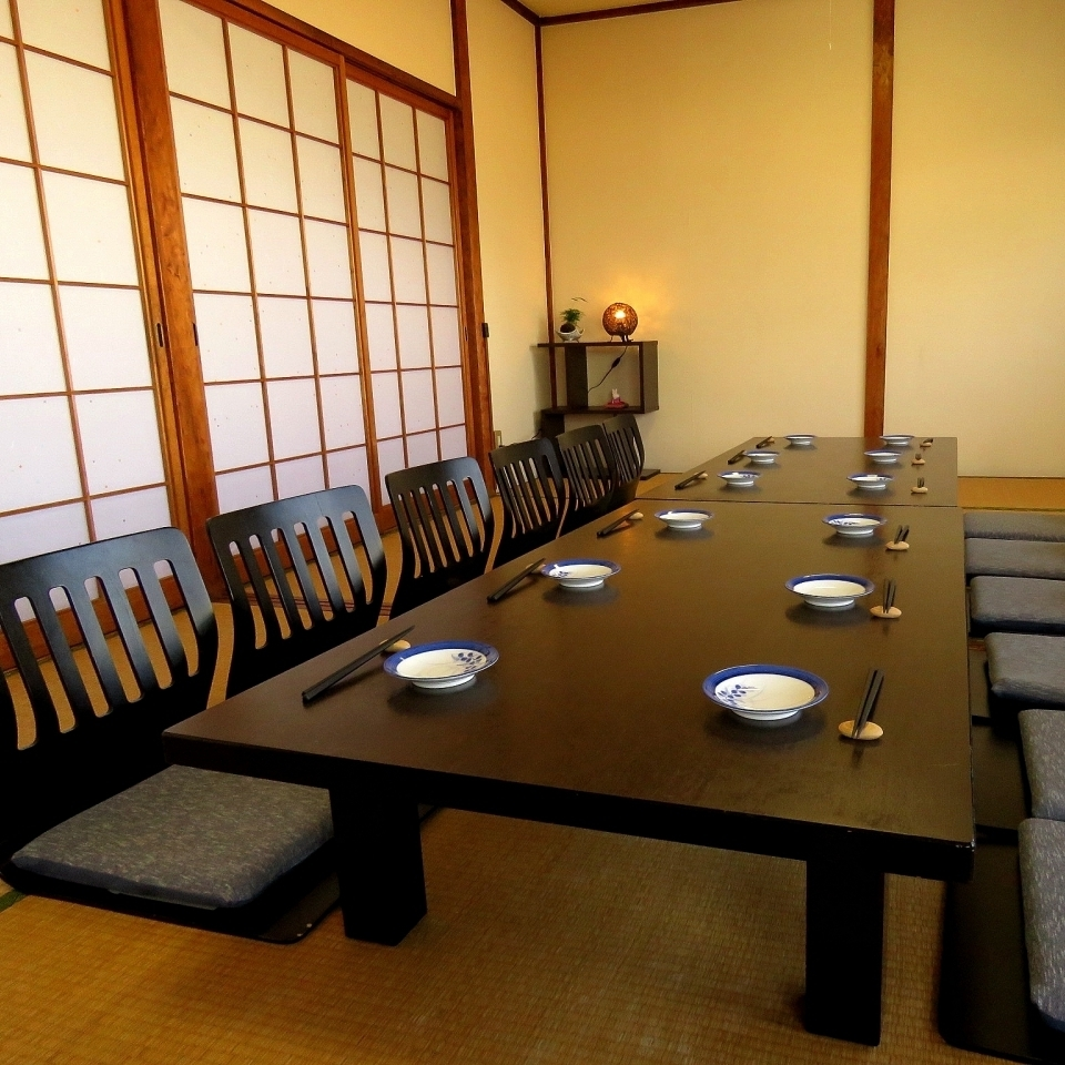 """【2F Oshiki Banquet Hall】 If you combine """"between the wind"""" and """"between the Japanese"""" you can spend a spacious room as a private room"""