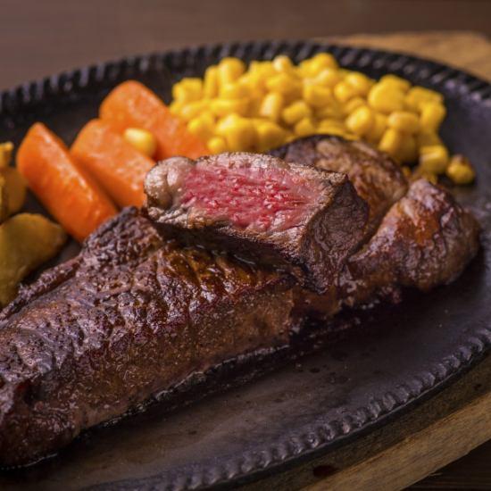 お肉なら当店で!お得な食べ放題から、黒毛和牛使用の豪華コース、A5等級ステーキまで!