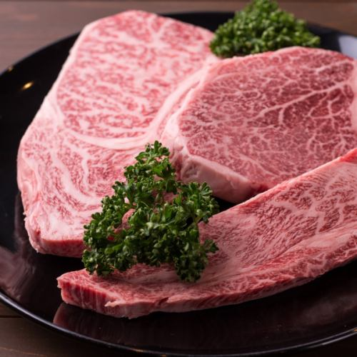 【A5等級】特選山形牛ヒレステーキ