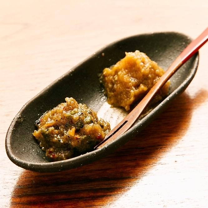季節野菜味噌