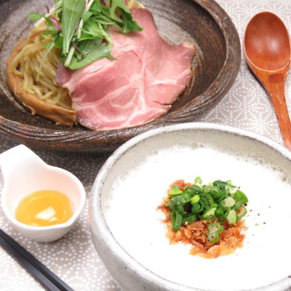 ふわふわスープ!つけ麺 (塩)