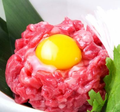 Wagyu beef tartare dealer (already, Chuo-ku, authorization)