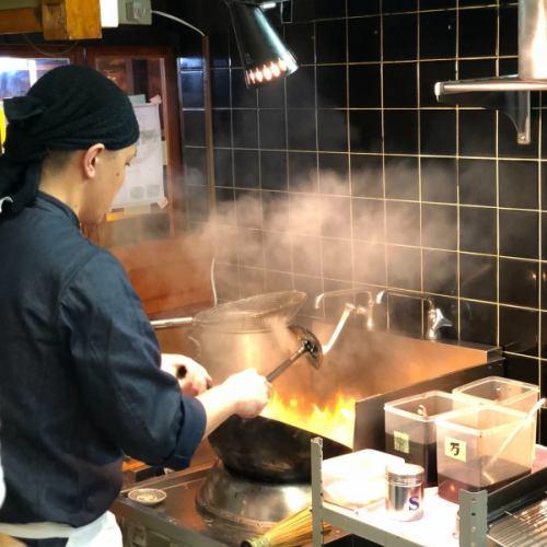 中華鍋で作る一味違った本格中華!