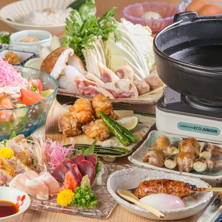 【Water cooked, Sukiyaki course】