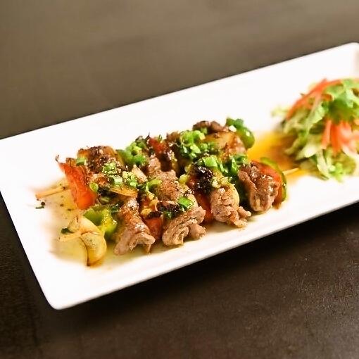 牛肉の串焼き 2P