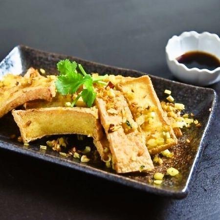 辛口厚揚げ豆腐&レモングラス焼き