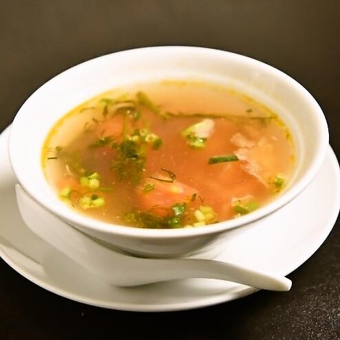 あさり&デイルのスープ