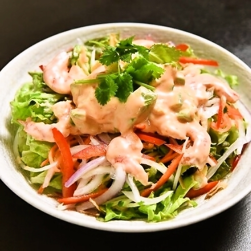 鱷梨和海鮮沙拉定期(2~3份)