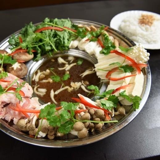 キノコ&鶏肉鍋