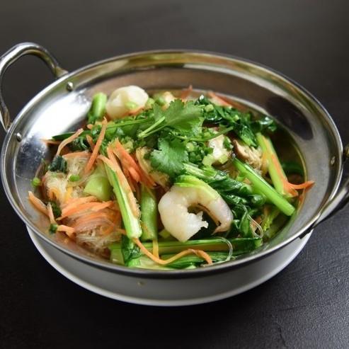 Stir-fried vermicelli & seafood