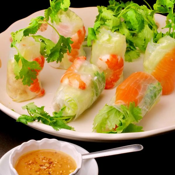 Pakuti girls must-see ♪ Raw spring roll assorted