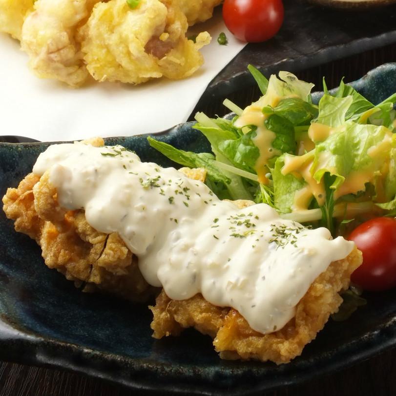 宫崎特产鞑靼鸡肉难波
