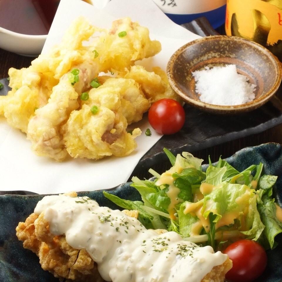 Fried things in various parts of Kyushu are also enriched ♪
